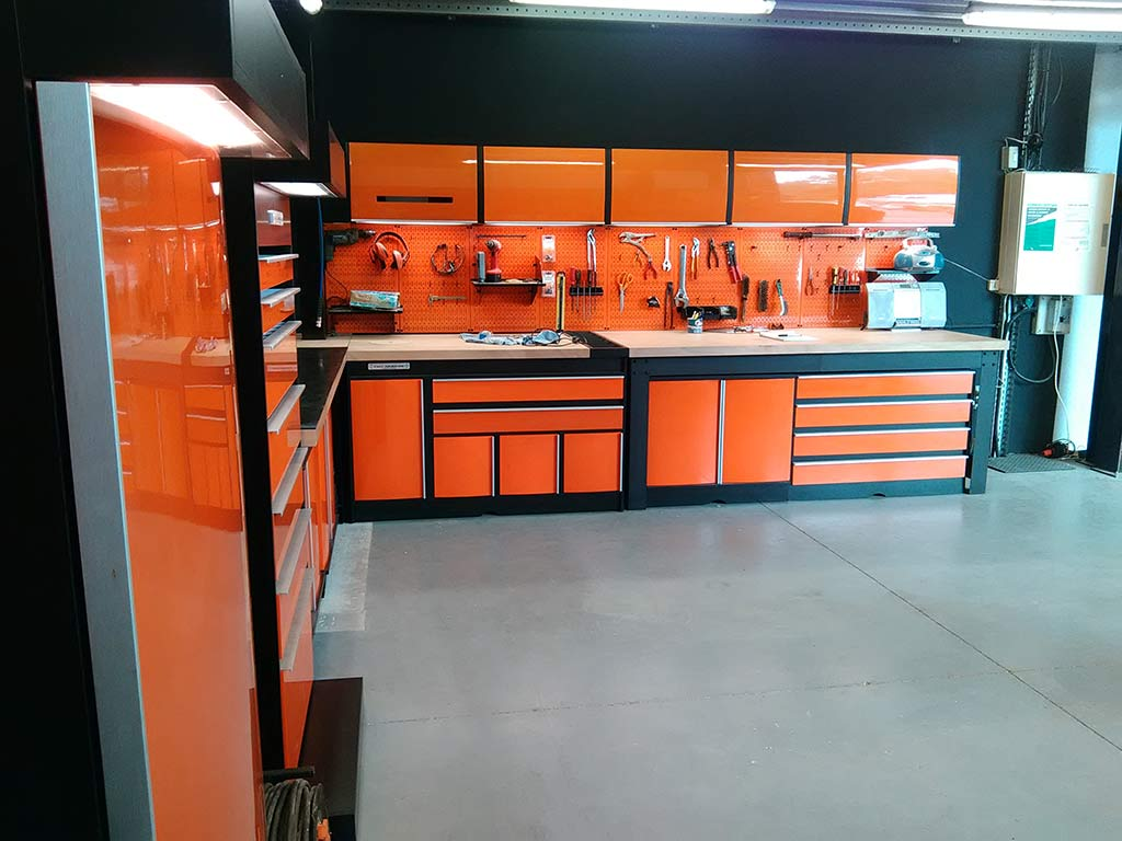 L'atelier mécanique du Paddock