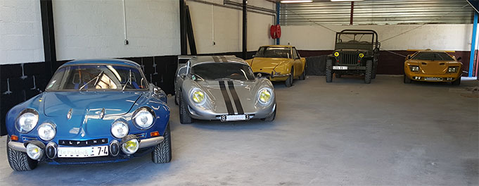 Le paddock gardiennage de voitures de collection - Garage de voiture de collection ...